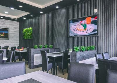 enterijer u restoranu novi pazar