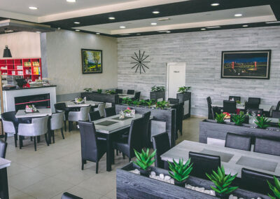 enterijer u restoran sejo novi pazar